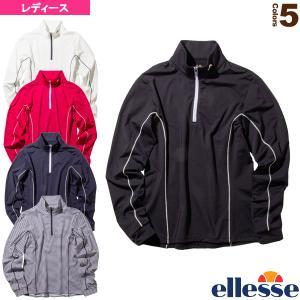 エレッセ テニス・バドミントンウェア(レディース)  ヒートニットジップアップ/Heat Knit Zip-up/レディース(EW09324)|sportsplaza