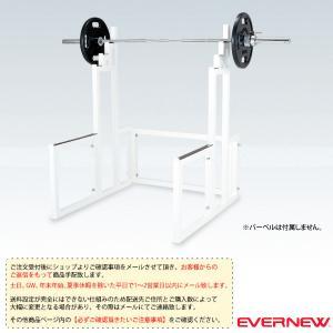 [エバニュー オールスポーツ設備・備品][送料別途]スクワットラックEV(ETB778)|sportsplaza