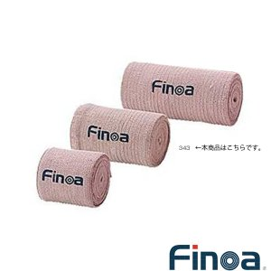 フィノア(Finoa) オールスポーツサポーターケア商品  エラスチックバンデージ/7.5cm/足首・ひざ用 混紡伸縮包帯(343)|sportsplaza