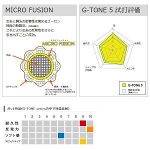 ゴーセン バドミントンストリング(単張) G-TONE 5/ジー・トーン 5(BS065)|sportsplaza|03