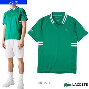ラコステ テニス・バドミントンウェア(メンズ/ユニ)  NOVAK DJOKOVIC/サイドボーダーポロシャツ/メンズ(DH9615L)|sportsplaza