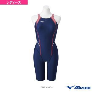 ミズノ 水泳ウェア(レディース)  STREAM ACE/ハーフスーツ/レースオープンバック/レディース(N2MG0220)|sportsplaza