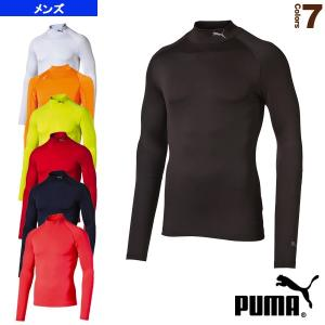 [プーマ オールスポーツアンダーウェア]Lite compression モックネックLSシャツ/メンズ(513185)