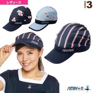 シンプソン テニスアクセサリ・小物  柄キャスケット/レディース(STA-C08)
