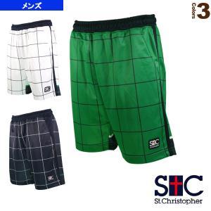 セントクリストファー テニス・バドミントンウェア(メンズ/ユニ)  チェックゲームパンツ/メンズ(STC-AIM5160)|sportsplaza