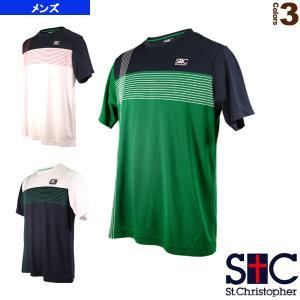 セントクリストファー テニス・バドミントンウェア(メンズ/ユニ)  クロスラインゲームTシャツ/メンズ(STC-AIM5181)|sportsplaza