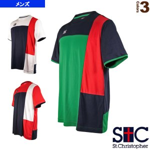 セントクリストファー テニス・バドミントンウェア(メンズ/ユニ)  ブロックゲームTシャツ/メンズ(STC-AIM5183)|sportsplaza