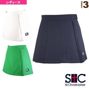 セントクリストファー テニス・バドミントンウェア(レディース)  巻きキルティングスコート/レディース(STC-AIW6192)|sportsplaza