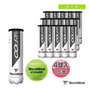 テクニファイバー テニスボール  COURT/1箱『4球入×15缶』/PERFORMANCE BALL(TBA4CT1) sportsplaza