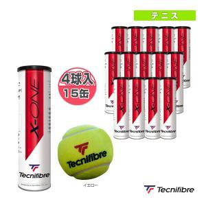 テクニファイバー テニスボール  X-ONE/1箱『4球入×15缶』/PREMIUM BALL(TBA4XE1) sportsplaza