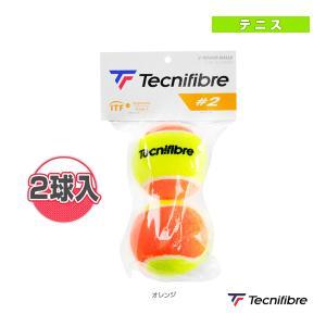 テクニファイバー テニスボール  ♯2/2球入/Stage 2 オレンジボール(TBP2OR1) sportsplaza