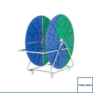 [TOEI(トーエイ) 水泳設備・備品][送料別途]コースロープ巻取器5(B-2407)