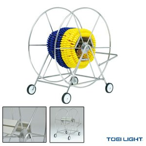 [TOEI 水泳設備・備品][送料別途]ステンレスコースロープ巻取器2(B-6328)