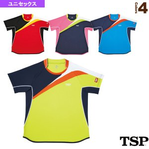 TSP 卓球ウェア(メンズ/ユニ)  ラバードシャツ/ユニセックス(031411)|sportsplaza