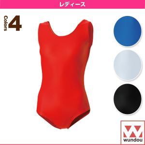 wundou(ウンドウ) 体操ウェア(レディース)  女子体操レオタード/レディース(P500)|sportsplaza