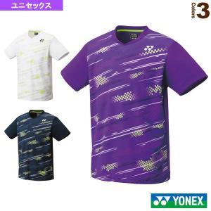 ヨネックス テニス・バドミントンウェア(メンズ/ユニ)  ゲームシャツ/フィットスタイル/ユニセックス(10428)|sportsplaza