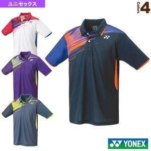 ヨネックス テニス・バドミントンウェア(メンズ/ユニ)  ゲームシャツ/スタンダードサイズ/ユニセックス(10429)|sportsplaza