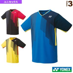 ヨネックス テニス・バドミントンウェア(メンズ/ユニ)  ゲームシャツ/スタンダードサイズ/ユニセックス(10430)|sportsplaza