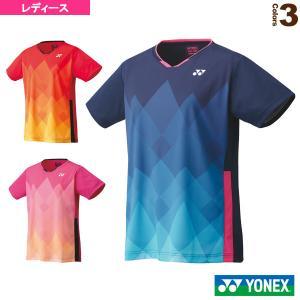 ヨネックス テニス・バドミントンウェア(レディース)  ゲームシャツ/レギュラータイプ/レディース(20622)|sportsplaza