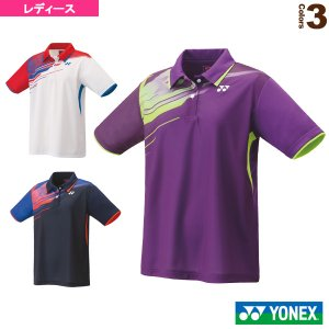 ヨネックス テニス・バドミントンウェア(レディース)  ゲームシャツ/レギュラータイプ/レディース(20623)|sportsplaza