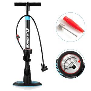 自転車空気入れ ロードバイク空気入れ クロスバイク空気入れ 米式バルブ、仏式バルブ対応 フロアポンプ