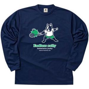 バドミントンジャンキー 長袖 Tシャツ エンドレスラリー ロングドライティー BDJ18520 sportsx