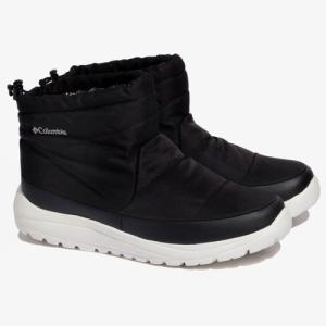 コロンビア スピンリールミニブーツ ウォータープルーフ オムニヒート スノーブーツ 冬靴 メンズ YU0277-010|sportsx