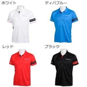 バボラ 襟付ゲームシャツ BTUNJA16 テニスウェア 19SS  BABOLAT メンズ spotaka