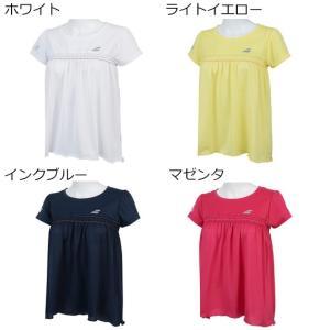バボラ ゲームシャツ BTWNJA16 テニスウェア 19SS  BABOLAT レディース spotaka
