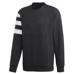 アディダス オールブラックス クルーネック FLX81 スポーツウェア 19FA オールブラックス CREW NECK adidas メンズ|spotaka