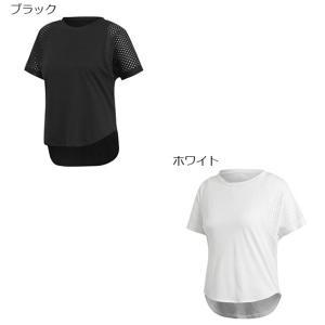 アディダス W ID メッシュ Tシャツ FWS25 スポーツウェア 19FA adidas レディース|spotaka