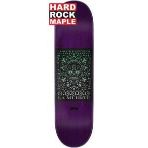 クリーチャー スケートボードデッキ La Muerte SM Hard Rock maple ラ ムエルテ 8|spotaka