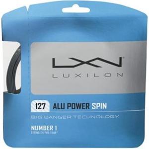 ルキシロン 17SS テニスストリング WRZ998400 ALU POWER SPIN 127 ア...