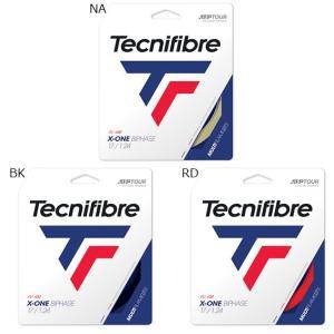 テクニファイバー テニスストリング メンズ/レディース エックスワンバイフェイズ1.24 TFG20...