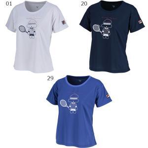 フィラ 18FW レディース テニスウェア VL1860 グラフィックTシャツ spotaka