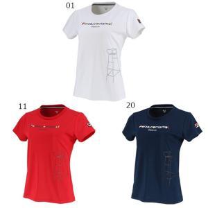 フィラ グラフィックTシャツ VL2045 テニスウェア 19FW  FILA レディース spotaka