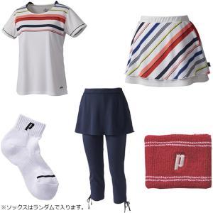 プリンス WLF1944 夏の福袋 2019 テニスウェア&アクセサリー 5点セット prince レディース|spotaka