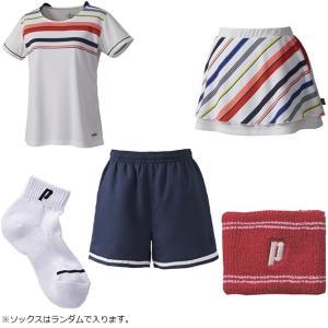 プリンス WLF1945 夏の福袋 2019 テニスウェア&アクセサリー 5点セット prince レディース|spotaka