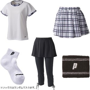 プリンス WLF1946 夏の福袋 2019 テニスウェア&アクセサリー 5点セット prince レディース|spotaka