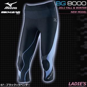 MIZUNO(ミズノ)BG8000 スポーツタイツ・セミロングタイツ・ランニングタイツ・バイオギア(