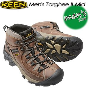 KEEN キーン Men's Targhee II Mid ターギー II ミッド 1008418 Shitake/Brindle|spray