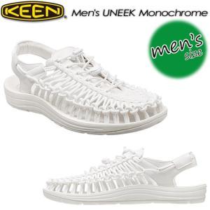 KEEN キーン Men's UNEEK Monochrome ユニーク モノクローム オープンエアスニーカー1014098|spray