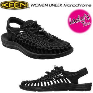 KEEN キーン Women's UNEEK Monochrome ユニーク モノクローム オープンエアースニーカー 1014099|spray