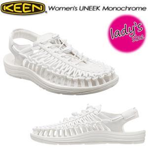 KEEN キーン Women's UNEEK Monochrome ユニーク モノクローム オープンエアースニーカー 1014100|spray