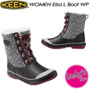 KEEN キーン Elsa L Boot WP エルサ エル ブーツ ウォータープルーフ 1015636|spray