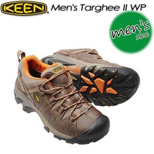 KEEN キーン Men's Targhee II WP ターギー II WP 1016305 Bungie Cord/Burnt Orange|spray