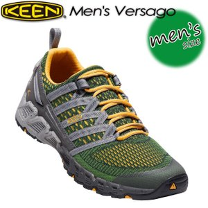 キーン KEEN 1016848 Men's Versago ヴァーサゴー  Black/Florite|spray