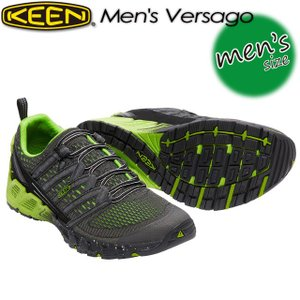 KEEN キーン Men's Versago ヴァーサゴー 1016849 Black/Greenery|spray
