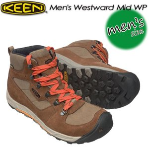 キーン KEEN 1016997 Men's Westward Mid WP ウェストワード ミッド WP  Cuba/Olive|spray