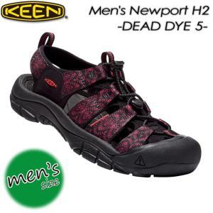 KEEN キーン Men's NEWPORT H2 ニューポート H2 1017076 DEAD DYE 5|spray